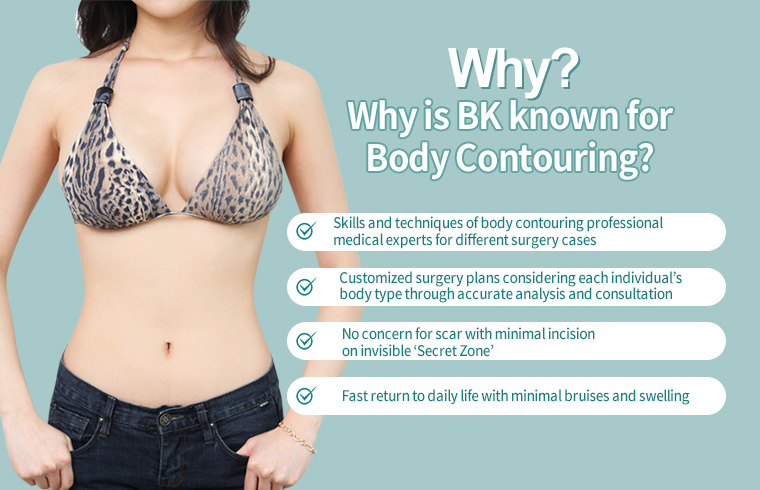 Why? Why is BK known for Body Contouring?